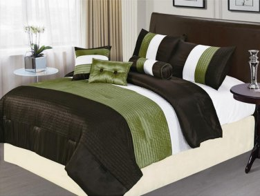 8 PC California King Luxury Comforter Set