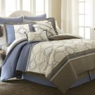 8 Piece King Comforter Set