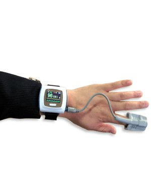 pulse oximeter fingertip Wrist Pulse Oximeter CMS50F