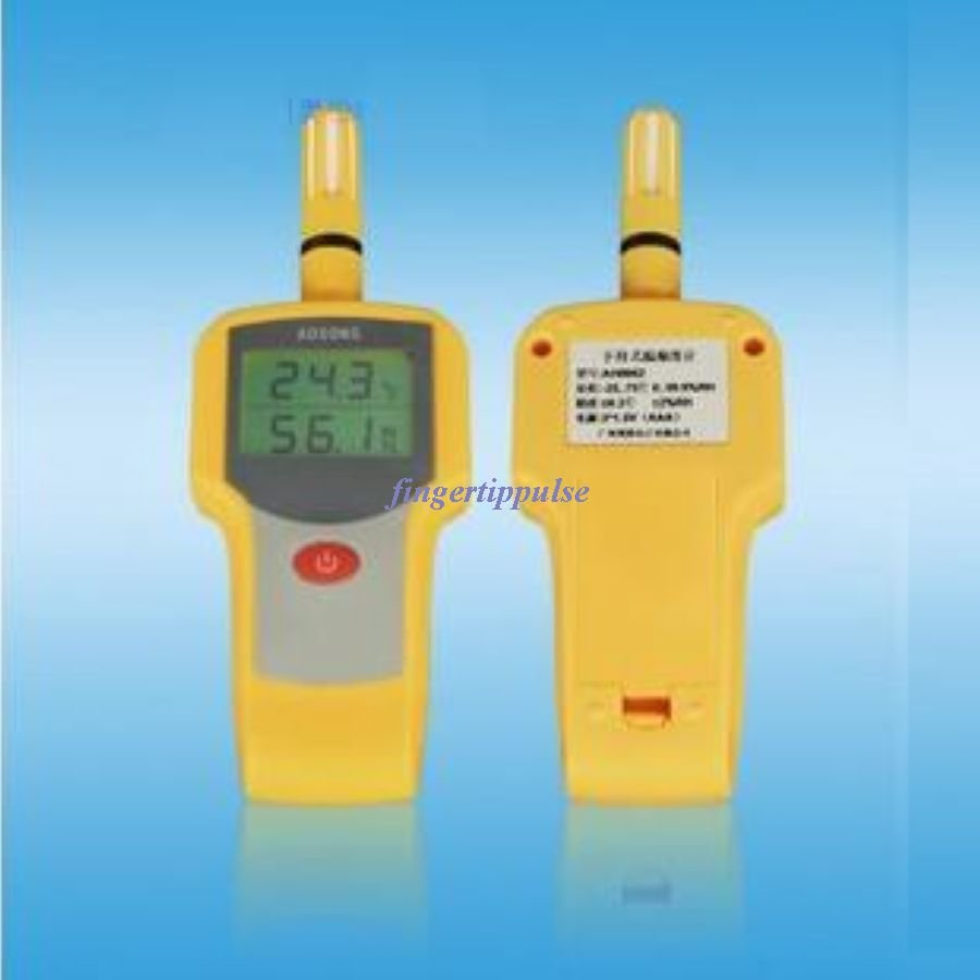 AH8002 Precision Thermometer Handheld LCD temperature humidity