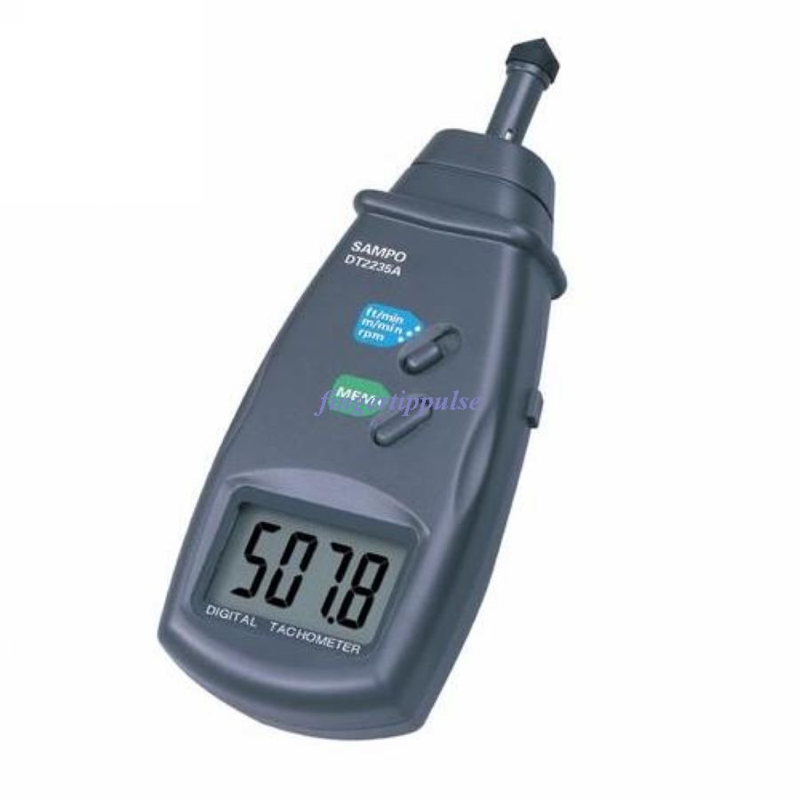 Digital Contact Tachometer Metric linear speed DT2235A