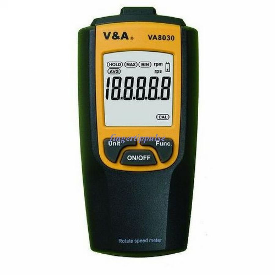 Non Contact Digital Tachometer rpm & rps VA8030