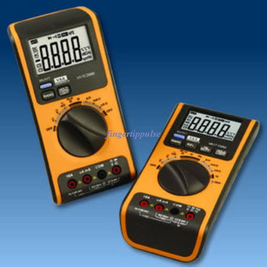 4K Counts DC AC Ω μF KHz � Duty Cycle Multimeter
