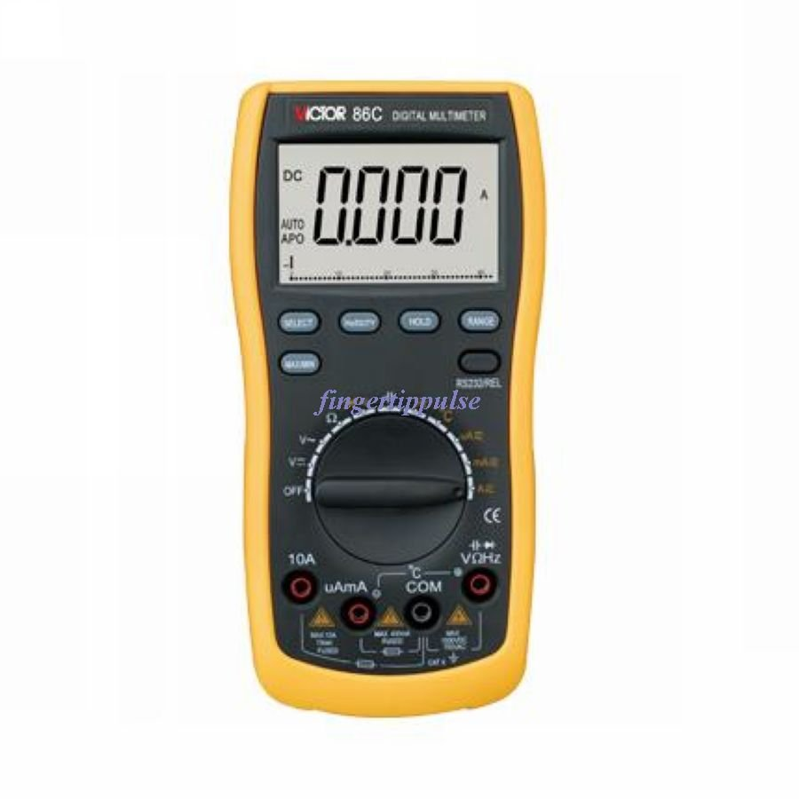 Digital Multimeter USB interface AC DC Ω nF uF Hz  � 86C