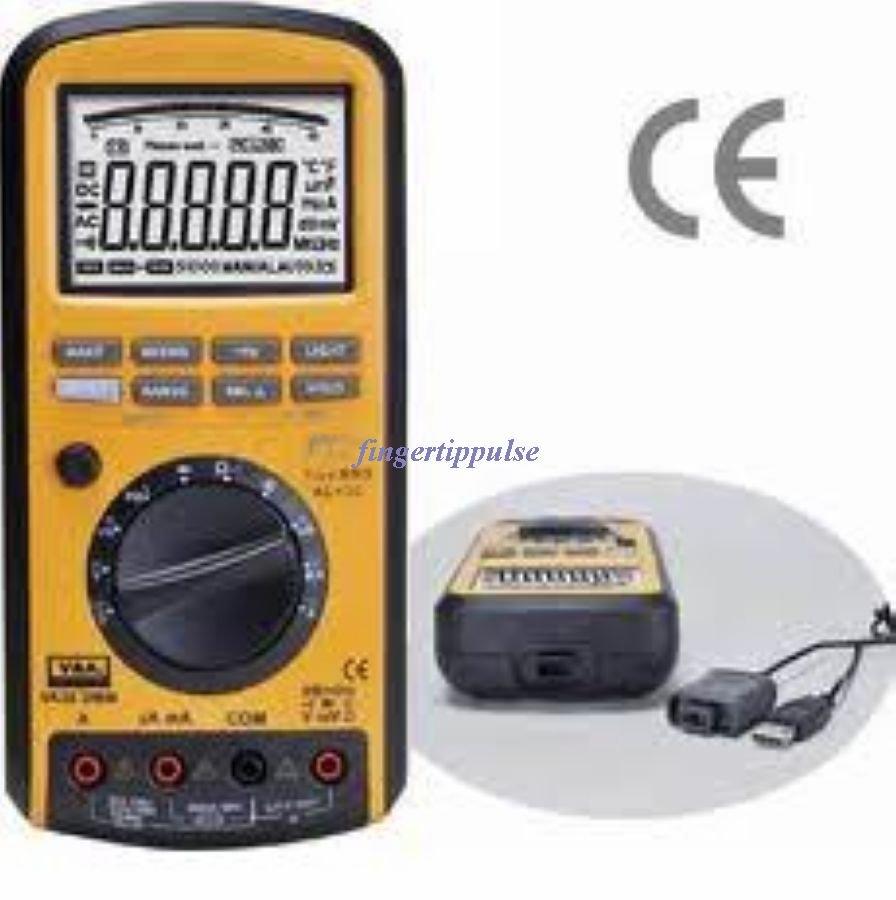 Diode Multimeter USB VA38 50K Counts DC AC Ω μF MHz KH