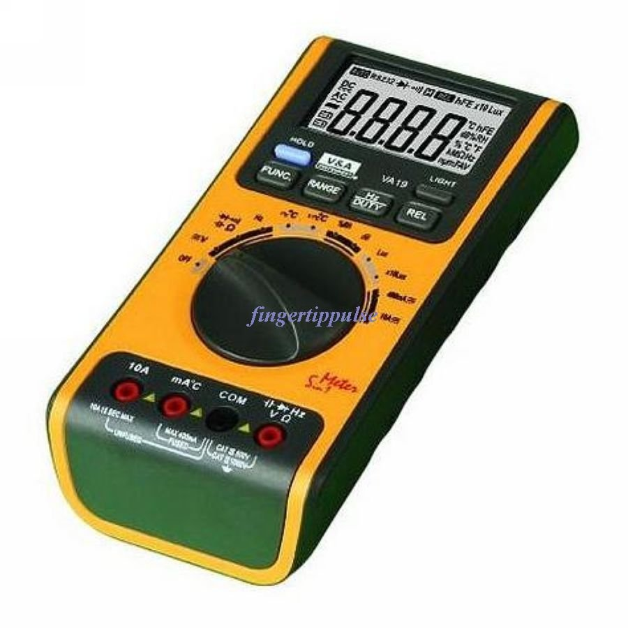5 in 1 Autorange Environmental Digital Multimeter VA19