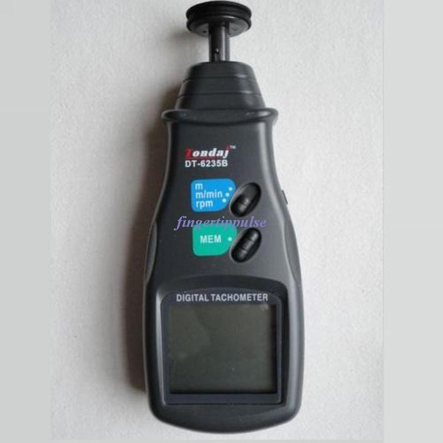 Digital Photo Contact Tachometer metric system DT6235B
