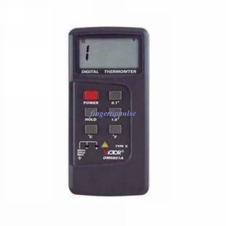 Victor Type K Thermometer Thermocouple Digital DM6801A
