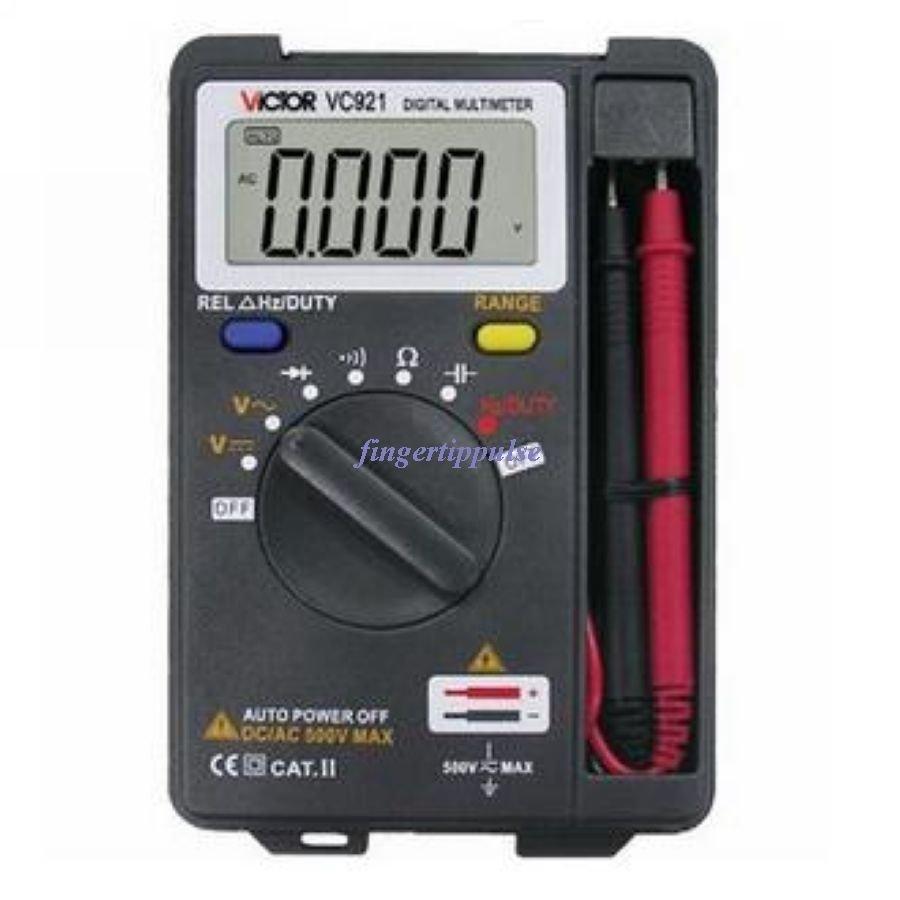 VICTOR VC921 Digital Pocket DMM Multimeter Voltmeter