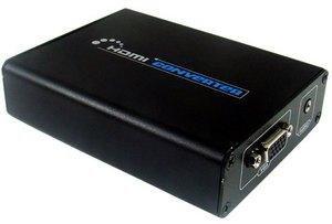 HDMI DVI To Analog VGA Audio Converter