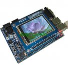 "ARM Cortex-M3 Development Board+2.4"" Touch TFT LCD 7v"
