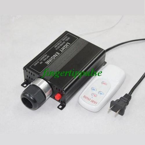 LED Optical Fiber Engine AC100-265V 16W RGB & Remote Controller