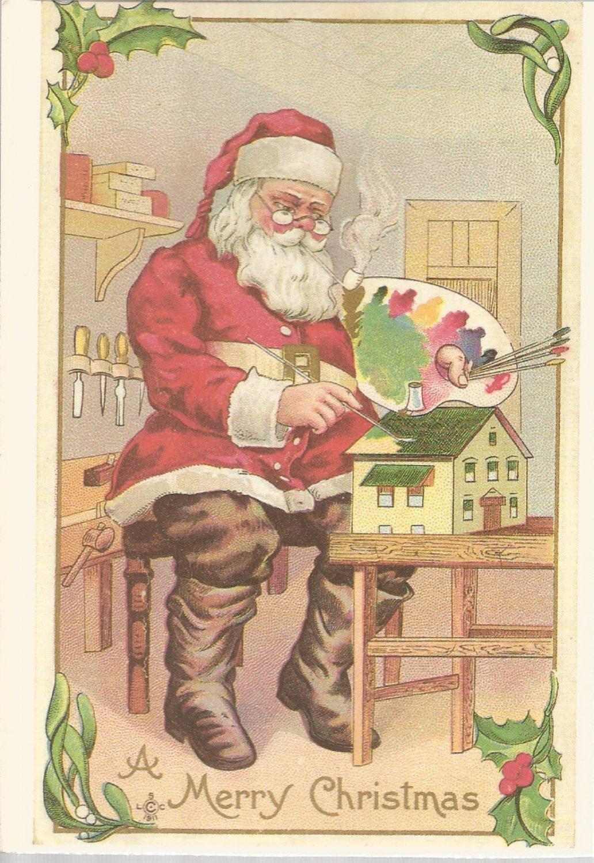 A Merry Christmas  Postcard (#13)