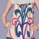 Damask Print Blouse Fashion