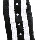 Perfect Length Ruffle Pintuck Tuxedo Pencil Skirt Fashion