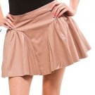 LAST ONE!! Faux Leather Flare Skater Skirt Fashion