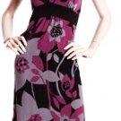 LAST ONE IN STOCK!! Ruffle Collar Bold Floral Empire Waist Dress Fashion