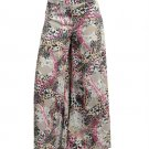 LAST ONE IN STOCK!! Animal Print Wide Leg Gaucho Palazzo Pant