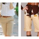 LAST ONE!! Tulle Anthropologie Cargo Chino Pants Bermuda Shorts Fashion