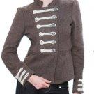 LAST ONE!! MILITARY Cadet Blazer Jacket Coat Fashion