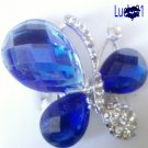 Blue Butterfly Ring 02