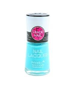 Nabi Crackle Shatter Pastel Blue Polish