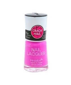 Nabi Crackle Shatter Baby Lavender Polish