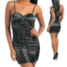 Sphegetti Strap Ruched Dress (Large)