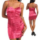 Sphegetti Strap Ruched Dress (small)