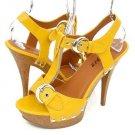 Bumper Kayla22 Heels Yellow Patent(7.5)