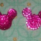Handmade Mouse Stud Earrings