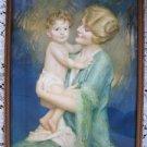 Vtg 1930 Mother & Child Print Sonny Bosseron Chambers