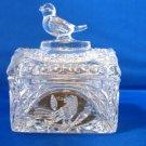 Hofbauer Crystal Byrdes Bird Chest Trunk Box w Label