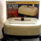 "Presto 15"" Jumbo Electric Fry Pan Skillet Roaster"