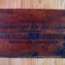 Old Union Metallic Cartridge Co Ammo Box Crate Shot Gun