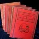 Antique Buckwalter Child Reader Set First - Fifth 1-5