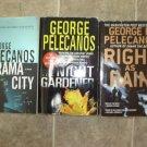 George Pelecanos Lot of 4 pb mystery novels books hardboiled