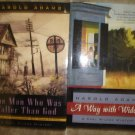 Harold Adams Lot of 2 pb mystery books historical Shamus Winner