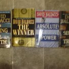 David Baldacci Lot of 10 pb thriller novels books