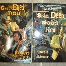 Robert Skinner Lot of 2 pb mystery books historical hardboiled New Orleans