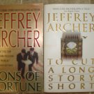 Jeffrey Archer Lot of 2 pb mystery thriller books
