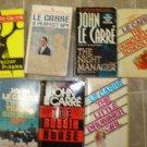 John LeCarre Lot of 8 pb Thriller Spy Espionage novels books