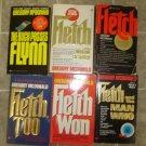 Gregory McDonald Lot of 6 pb mystery novels books comic Fletch