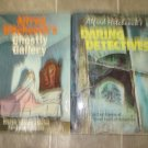 Alfred Hitchcock 2 vintage HC collections Daring Detectives Ghostly Gallery short stories