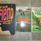 Margaret Millar lot of 4 pb HC mystery novels books First Edition vintage noir
