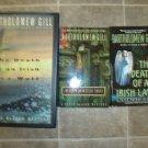 Bartholomew Gill lot of 4 pb HC mystery novels books Irish Peter McGarr