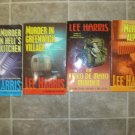 Lee Harris Lot of 7 pb mystery novels cozy Christine Bennett