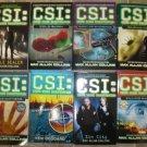 CSI Crime Scene Investigation Lot of 8 pb mystery Max Allan Collins
