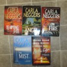 Carla Neggers lot of 5 pb romantic suspense novels books