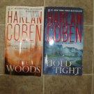 Harlan Coben Lot of 4 pb HC mystery thriller books